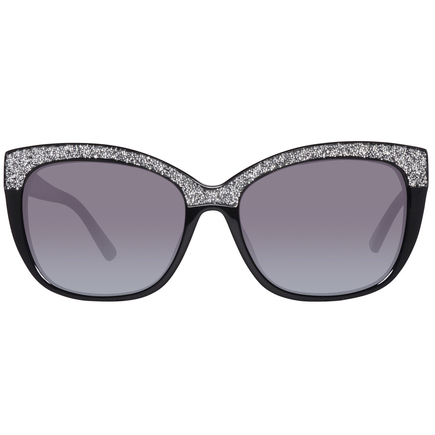 ff820967aae GUESS BY MARCIANO GM0730 Sunglasses 01B Shiny Black 55-16-135   Amazon.co.uk  Clothing