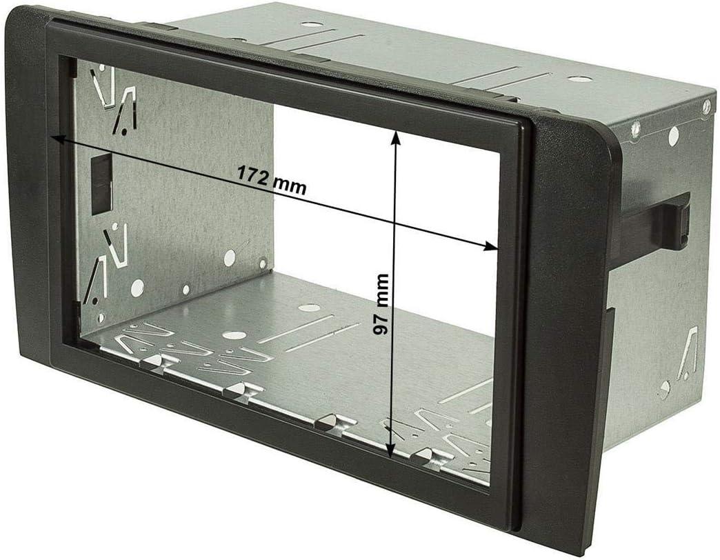 Tomzz Audio 2403 037 Doppel Din Radioblende Set Elektronik