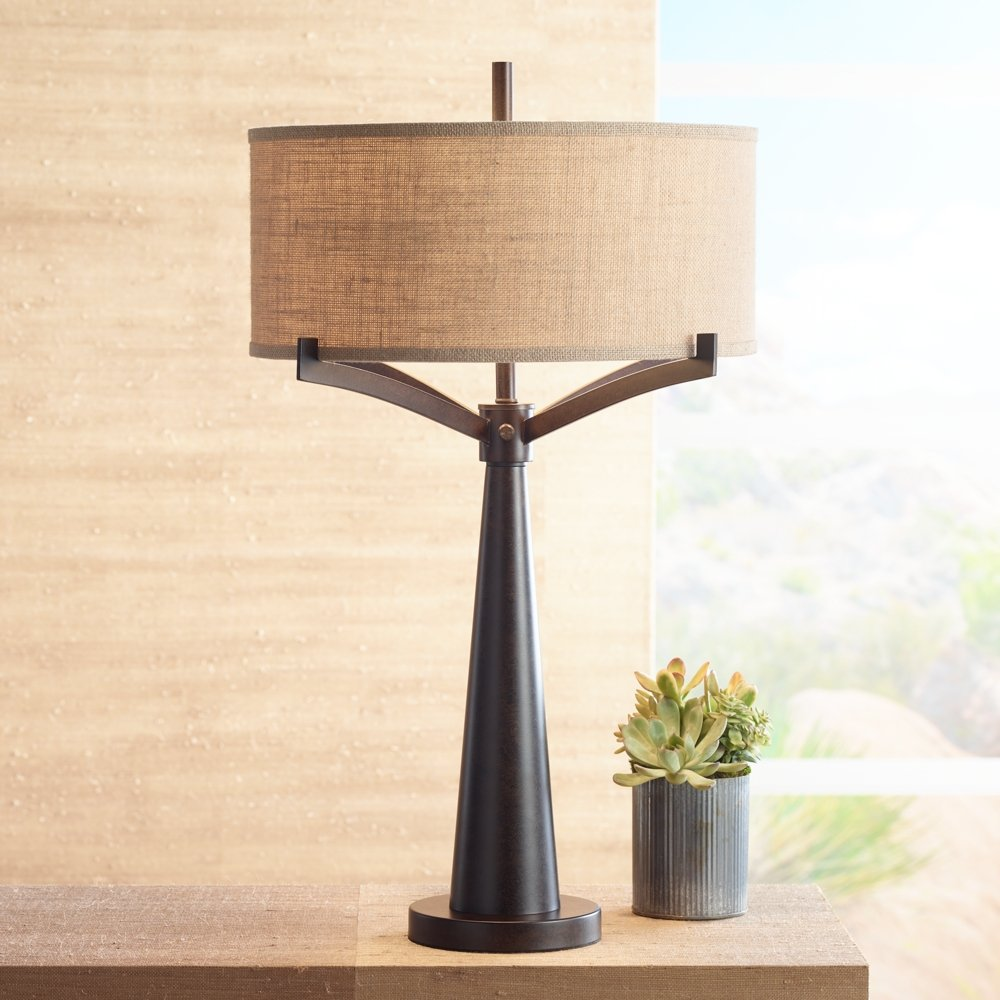Tremont bronze iron table lamp amazon mozeypictures Gallery