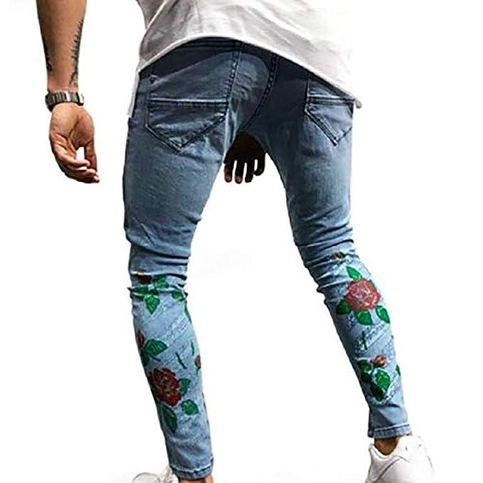 Amazon.com: Zooka - Pantalones vaqueros para hombre, diseño ...