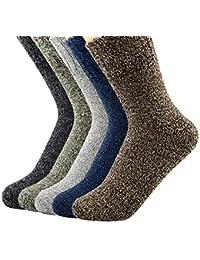Women's Vintage Winter Soft Wool Warm Comfort Cozy Crew...