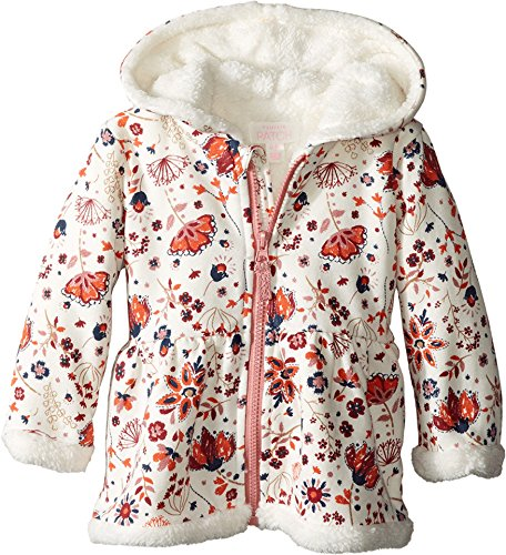 de47bd6ff Pumpkin Patch Kids Baby Girl s Fluffy Lined Hoodie Jacket (Infant ...