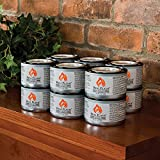 Real Flame Junior Gel Fuel 7-oz Cans 2122 (Pack of 12)