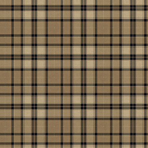(Decorate By Color BC1581867 Black and tan plaid Wallpaper)