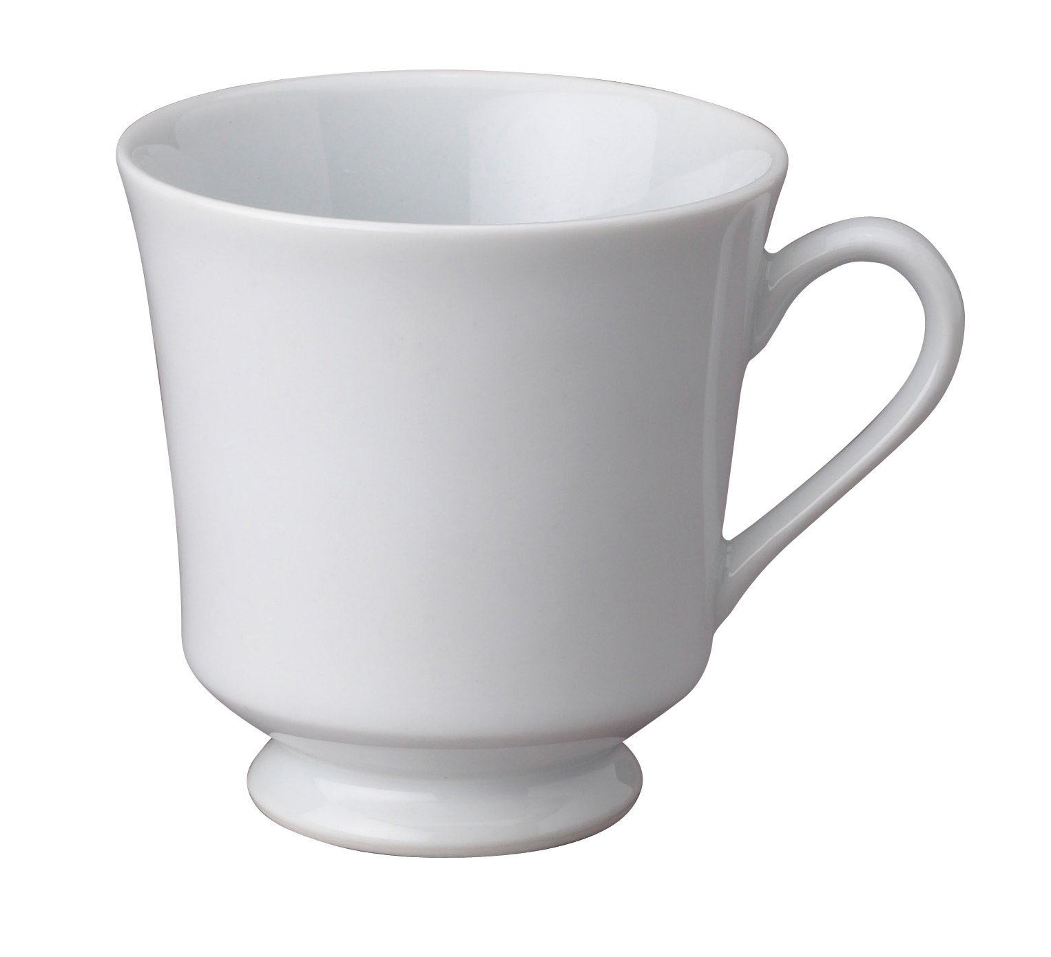 HIC 7-ounce Porcelain Footed Cup