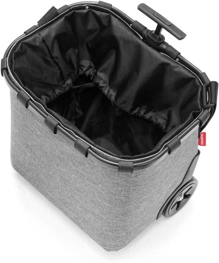 EXKLUSIVES ANGEBOT case 2 Einkaufskorb Einkaufstasche Einkaufstrolley Set Rolltasche Case Kosmetik Kosmetiktasche baroque taupe reisenthel carrycruiser
