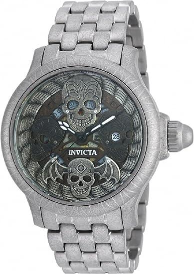 Invicta 19857 Hombres de 48 mm de coleccionista de huesos Swiss Quartz reloj de pulsera de