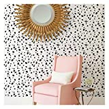 Dalmatian Spots Allover Stencil - Large Stencils for Painting Walls - Try Stencils Instead of Wallpaper - Modern Stencils for Wall Painting - Stencil Designs for DIY Home Décor - Best Stencils