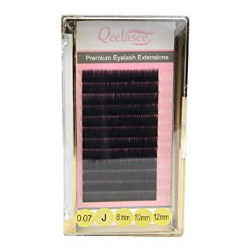 26d6e122fce Camellia Eyelash Pandora Eyelash Extensions Mixed Length in One Lash Strip  0.07 C Curl 10mm 12mm 14mm: Amazon.ca: Beauty