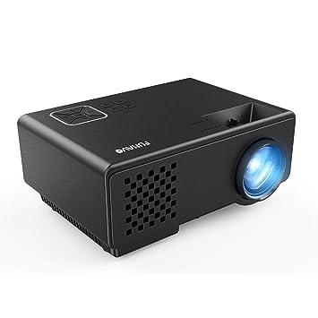 Funavo Proyector, RD-815 Mini proyector portátil, Full HD 1080P ...