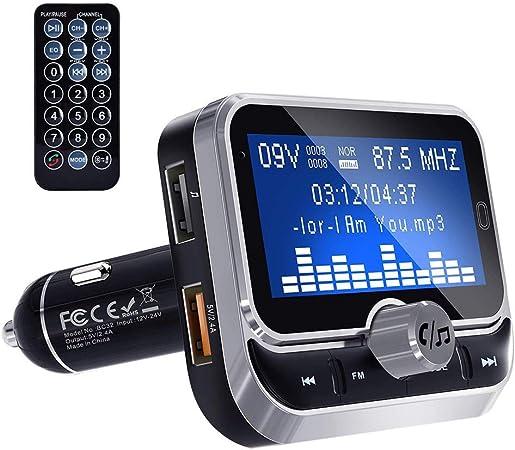 Bluetooth Fm Transmitter Auto Radio Bluetooth Adapter Elektronik