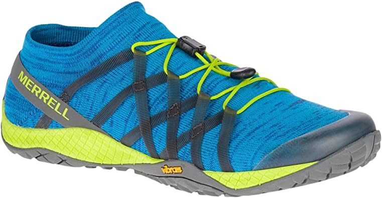 Merrell - Trail Glove 4 Knit Hombres, Azul (Sodalite), 10 D(M) US ...