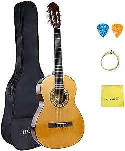 Juego de guitarra clásica HUA WIND de 36 pulgadas, tamaño 3/4 ...