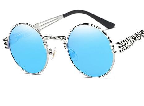 Amazon.com: Metal Men F5873 - Gafas de sol redondas ...