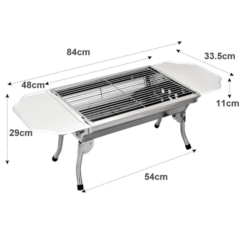 Amazon.com: zz-aini tablero de la mesa portátil de acero ...
