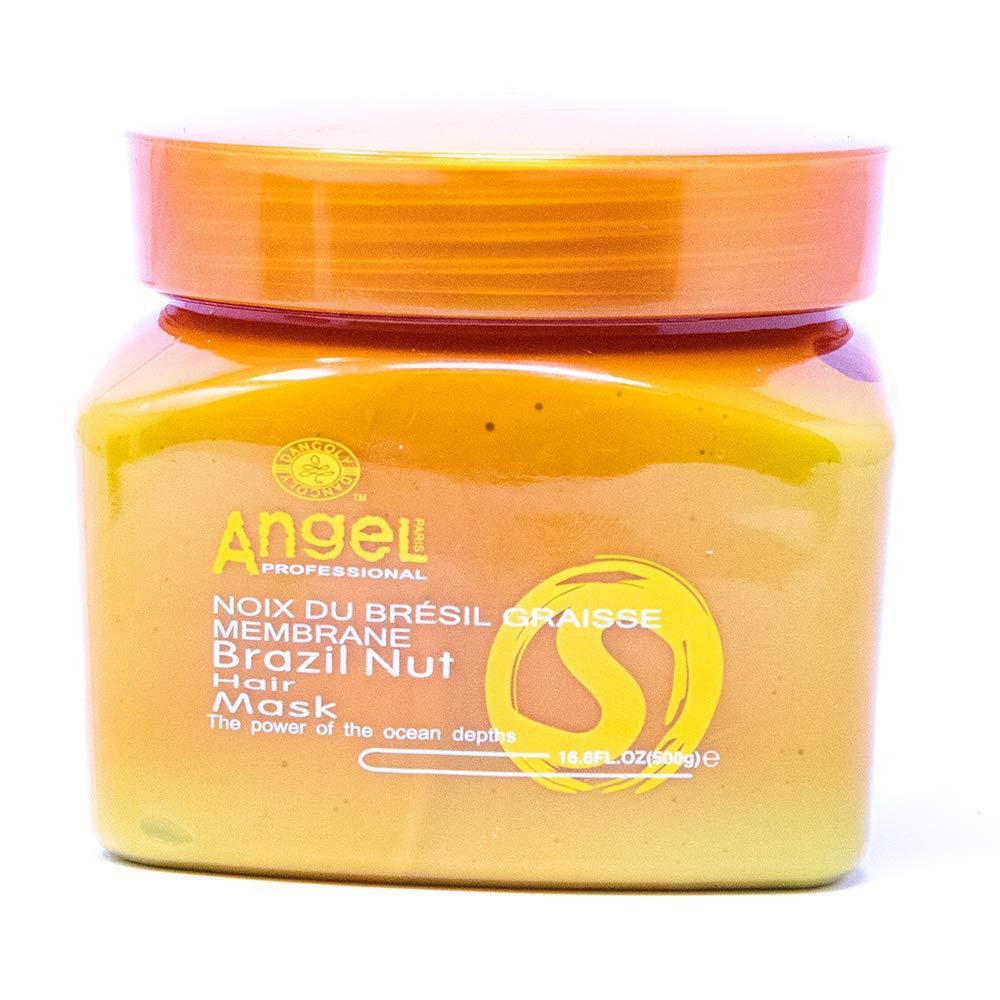Angel Paris Professional Brazil Nut Hair Mask, 16.6 oz
