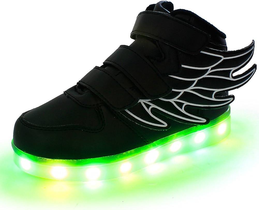 SLEVEL LED Light Up Shoes USB Flashing