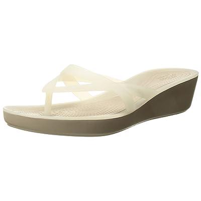 Crocs Women's Isabella Wedge Flip | Flip-Flops
