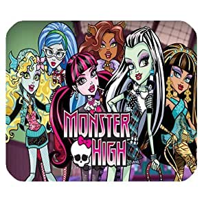 Mystic Zone Monster High Rectangle Mouse Pad (Black) - MZM00032