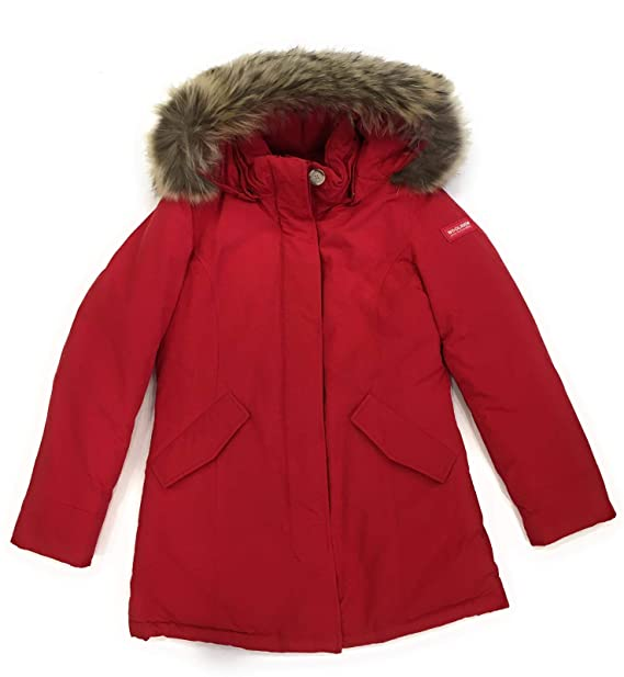 new style 17294 6d18e WOOLRICH JOHN RICH & BROS. Piumino Arctic Parka Rosso WKCPS1973CN03 Rosso  14A/44