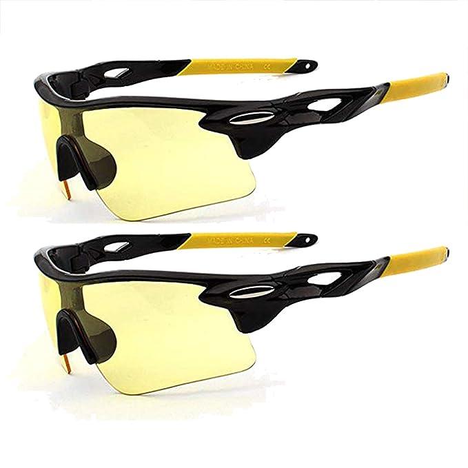 Amazon.com: Gafas de sol deportivas con protección UV400 HD ...