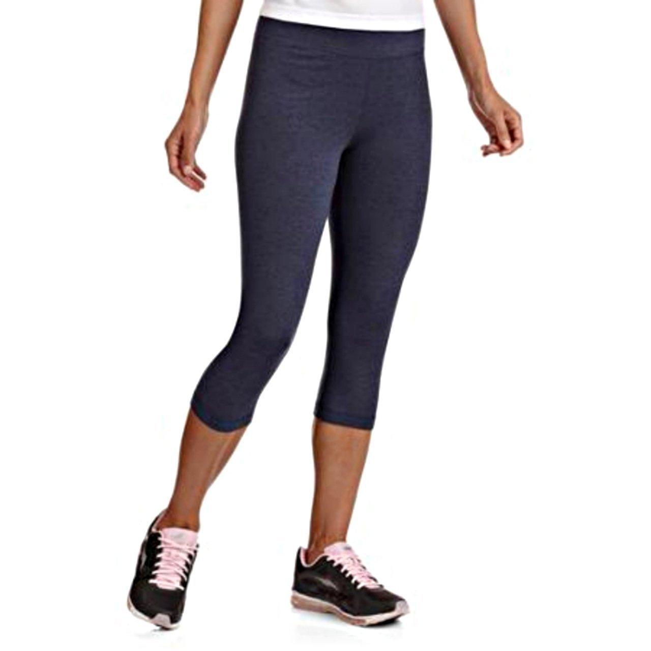 b99b4ca95cd Danskin Now Womens Dri-More Cropped Leggings at Amazon Women s Clothing  store