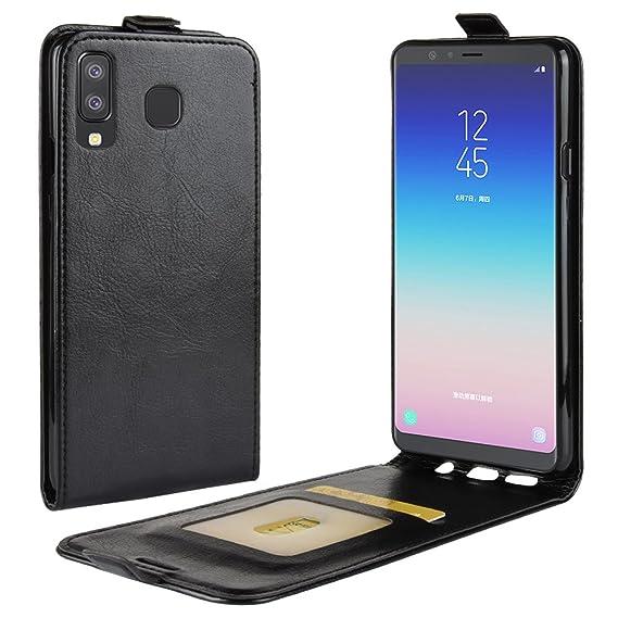 pretty nice 848f1 4186b Amazon.com: Galaxy A8 Star Case,Galaxy A9 Star Leather Case,OPDENK ...