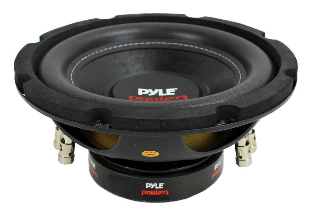 """2) PYLE PLPW8D 8"""" 1600W Dual Voice Coil 4-Ohm Car Audio"""