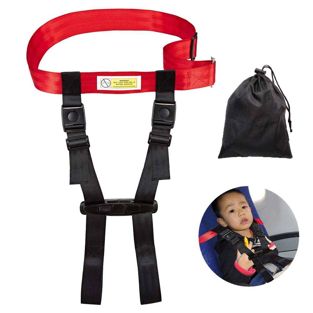 Child Safety Harness Airplane Travel Clip Strap, Travel Harness Safety System Approved by FAA, Airplane Safety Travel Harness for Baby, Toddlers & Kids (2025) by YIKUSO (Image #1)