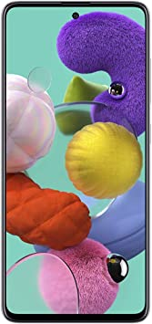 Samsung Galaxy A51 (128GB, 4GB) 6.5, 48MP Quad Camera, Dual SIM GSM Unlocked A515F/DS- Global 4G LTE International Model