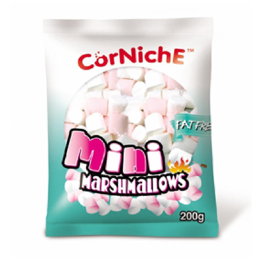Corniche Mini Marshmallow 200g (628MART) (1 Pack)