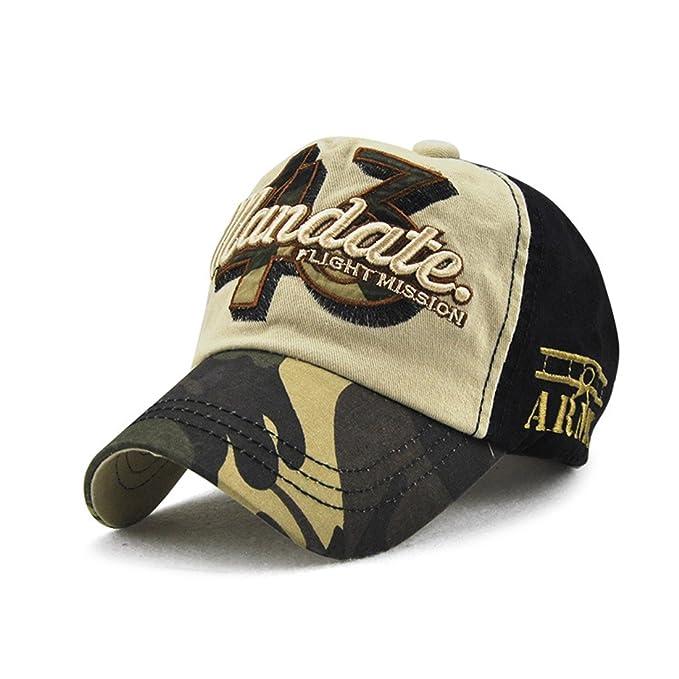 Topcoco Child New Camo Cotton Baseball Cap Adjustable Infant Boy Girl Sun  Protection Hat Beige 22d3155b0b3