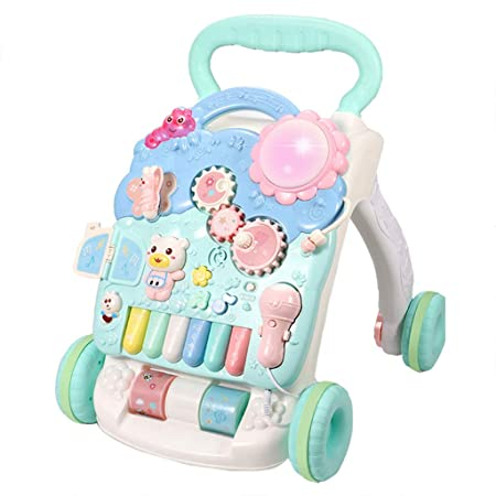 Meen Andador De Bebe, Baby Early Education Puzzle Walker Carrito ...