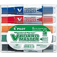 Pilot Begreen recyklingowana tablica V Master Whiteboard Markker Pocisk 6,0 mm Końcówka - czarny/czerwony/niebieski…