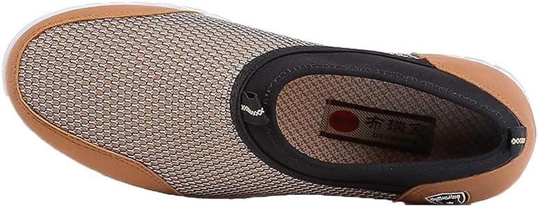 Fannyfuny_Zapatos para Hombre Zapatillas Hombres Deportivas Zapatos de Vestir al Aire Libre Zapatillas Running Chelsea para Caminar Malla Ligero Deporte Entrenadores: Amazon.es: Zapatos y complementos