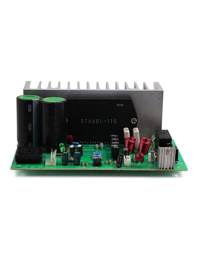 Amazon.com: Estéreo eDealMax 140W + 140W de alta fidelidad de Audio Junta Amplificador de Potencia: Car Electronics