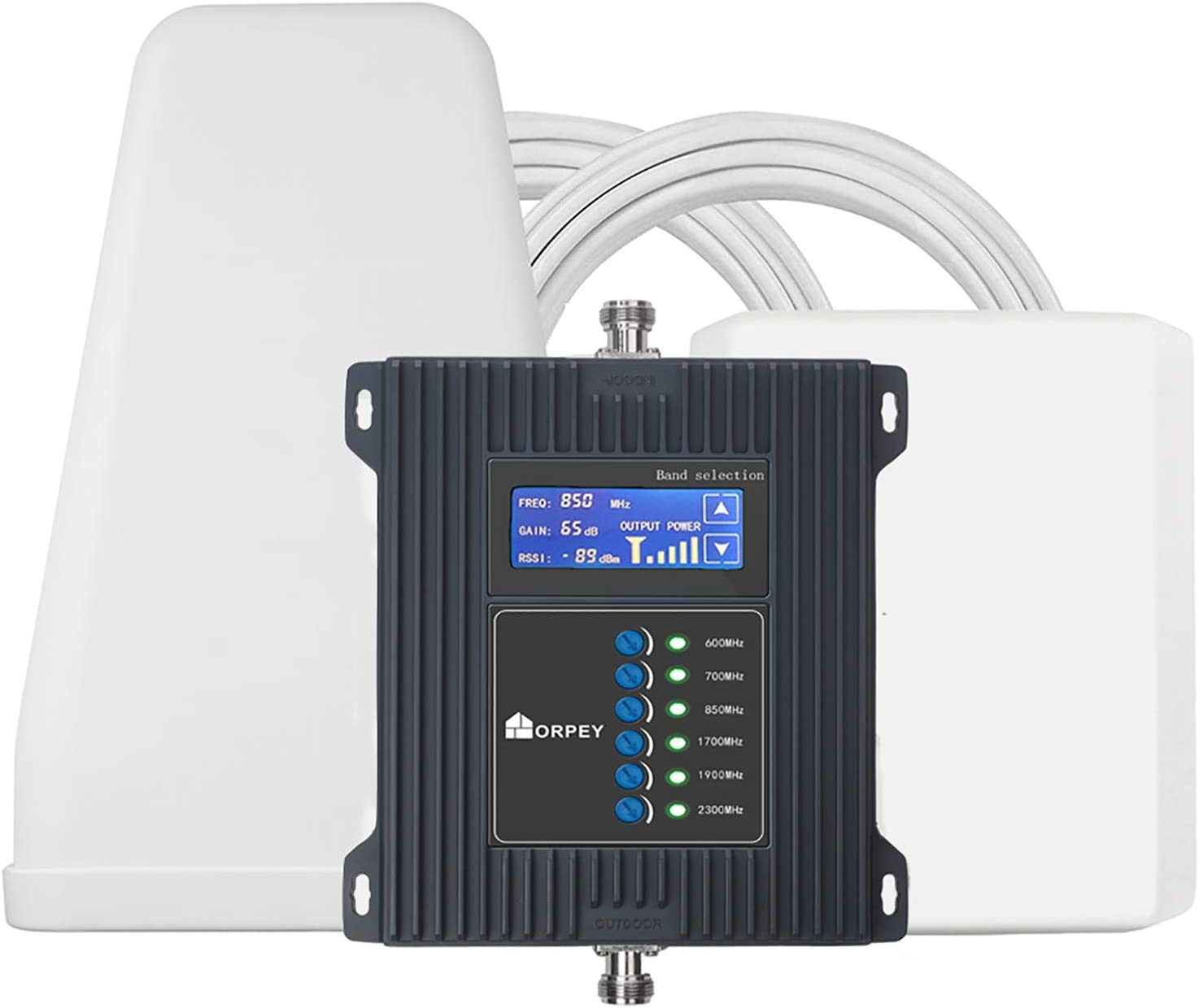 5G Cell Phone Signal Booster Repeater for Home and Office - Improves 5G and 4G LTE Signal for Verizon, AT&T, T-Mobile, Sprint - Multiple Band 2/4/5/12/13/17 for 5G