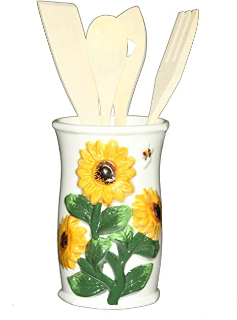 Amazon Com Ack 3 D Sunflower Kitchen Tools W Utensils 83038 Home