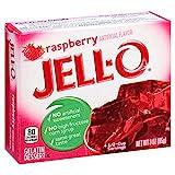 Jell-O Raspberry Gelatin Mix 3 Ounce Box
