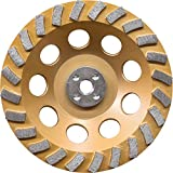 Makita A-96425 24 Segment Turbo Anti-Vibration Diamond Cup Wheel, 7''