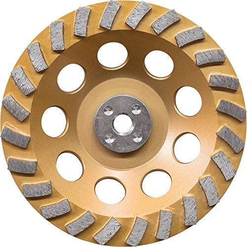 Makita A-96425 24 Segment Turbo Anti-Vibration Diamond Cup Wheel, 7