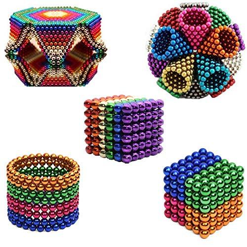 R&L Magnetic Sphere 216 PCS + 6, 5mm Fidget Toy for Education and Intelligent Development (Multi-Color) by R&L (Image #1)