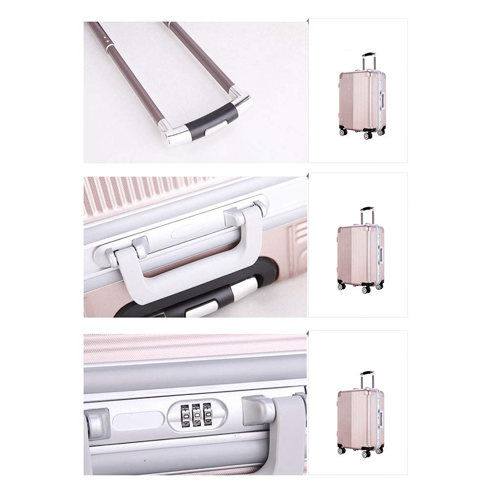 072eb652693b Amazon.com: MZTYX Us Aluminum Frame Business Suitcase, Waterproof ...