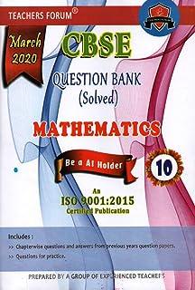 Amazon in: Buy Teachers Forum CBSE Question Bank (Solved