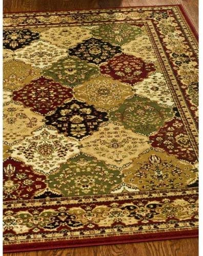 Safavieh Lyndhurst Collection LNH221G Traditional Oriental Non-Shedding Stain Resistant Living Room Bedroom Area Rug