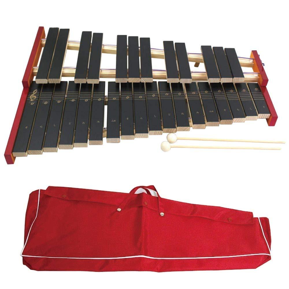 専用ビニールケース レッド 付き 木琴 No.181WA 全音