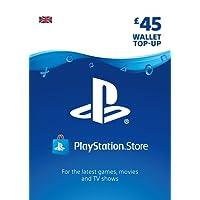PlayStation PSN Card 45 GBP Wallet Top Up | PSN Download Code - UK account
