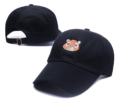 cae75f94806 Kanye West Dropout Bear Snapback Hats Classic Men   Women s Fashion Peaked  Cap ...