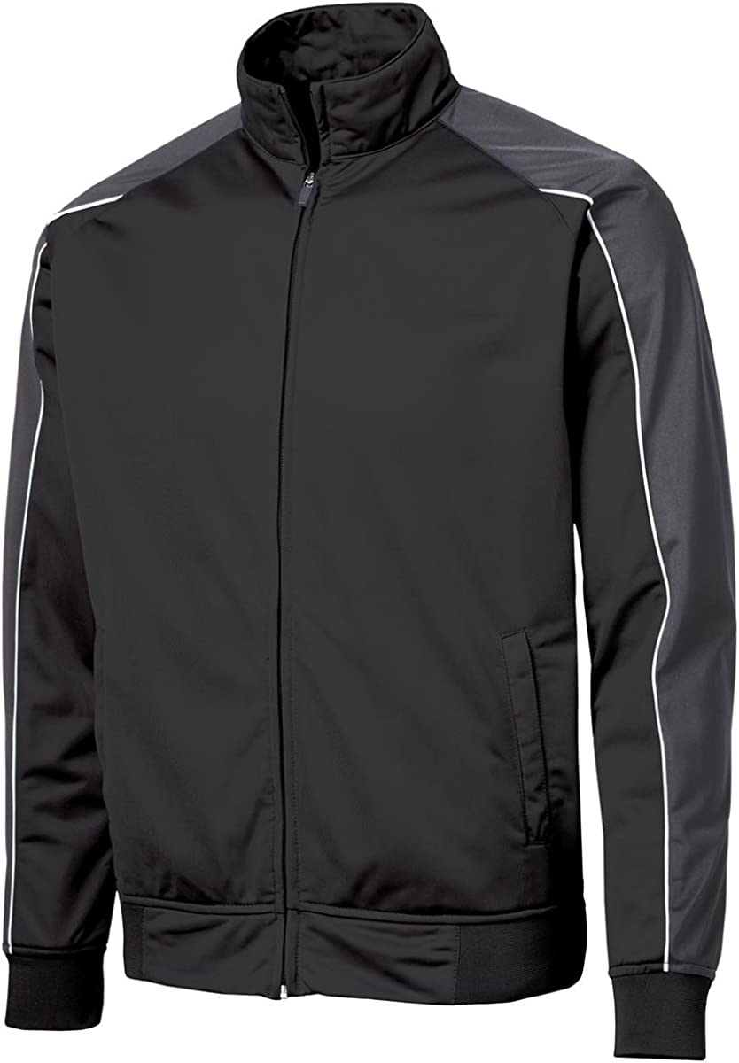 SPORT-TEK Men's Piped Tricot Track Jacket