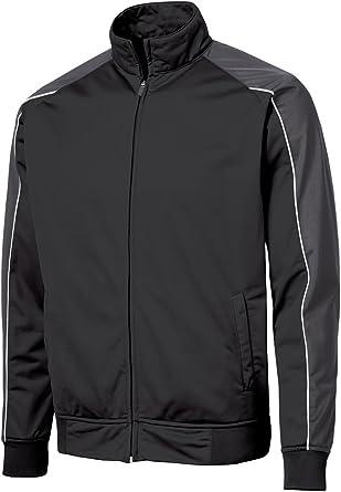 Tricot Track Jacket.,X-Large,Black Sport-Tek